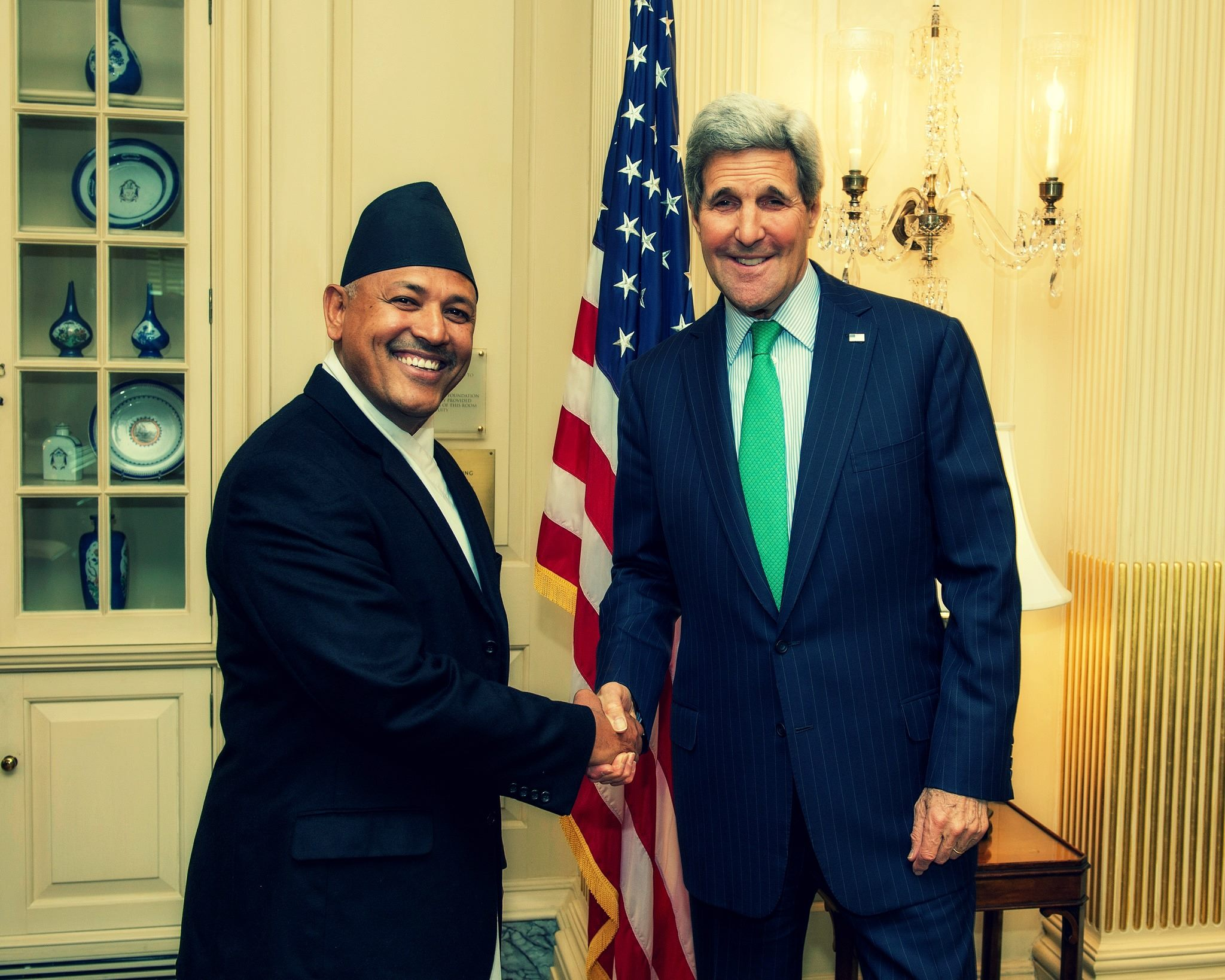 nepal relationship with usa